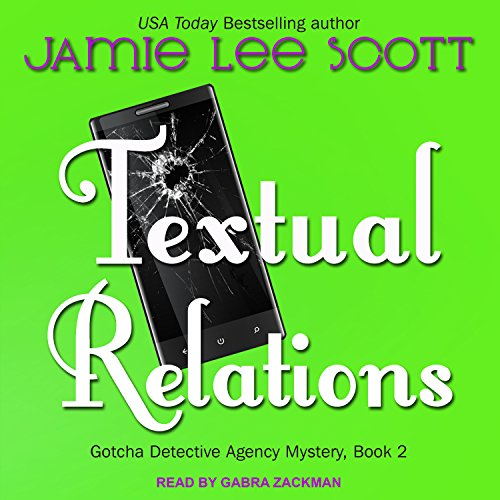 Textual Relations audiobook cover art