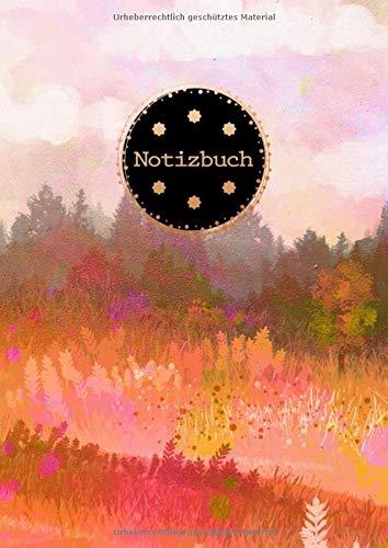 Notizbuch: Toskana Kunst Design Blankobuch Din A4 mit 120 zum Selbstgestalten | Praktisch als Skizzenbuch bzw. Zeichenbuch | Leeres Erinnerungsbuch mit Soft Cover