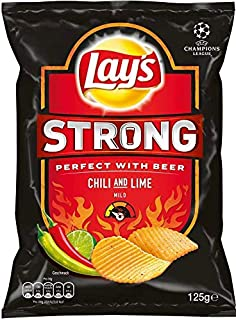 "Lay""s - Strong Chili & Lime Chips, 5er Pack, 5 x 125g"