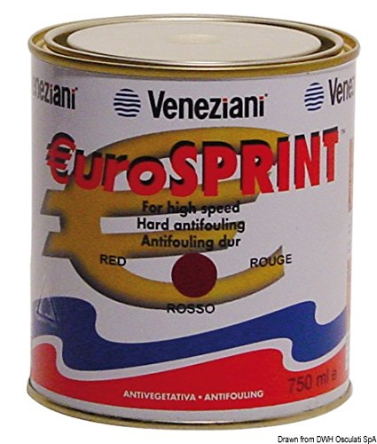 VENEZIANI - Antivegetativa Eurosprint nera 2,5 l