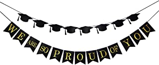 We are so Proud of You Bunting Flag -2019 Graduation Banner Graduation -Party Supplies 2019 -Congrats Grad Party Decorations