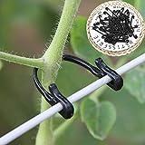 BonTime 100pcs vignes Attache attachée Boucle Crochet Plante greffe de légumes Clips de la Serre agricole Fournitures