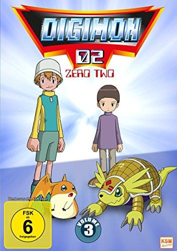 Digimon Adventure 02 (Volume 3: Episode 35-50) [3 DVDs]