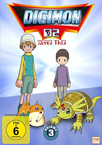 Digimon Adventure 02 (Volume 3: Episode 35-50) [3 DVDs]