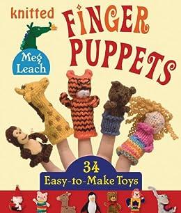 DMC Amigurumi: Woodland Animal Finger Puppets Crochet Pattern ... | 306x260