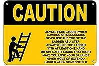 ラダーの安全に関する注意事項