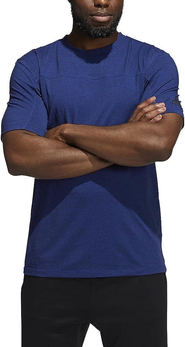 Bombing new work adidas City Genuine Base Tee Shirt - Training L Bold Blue Mens