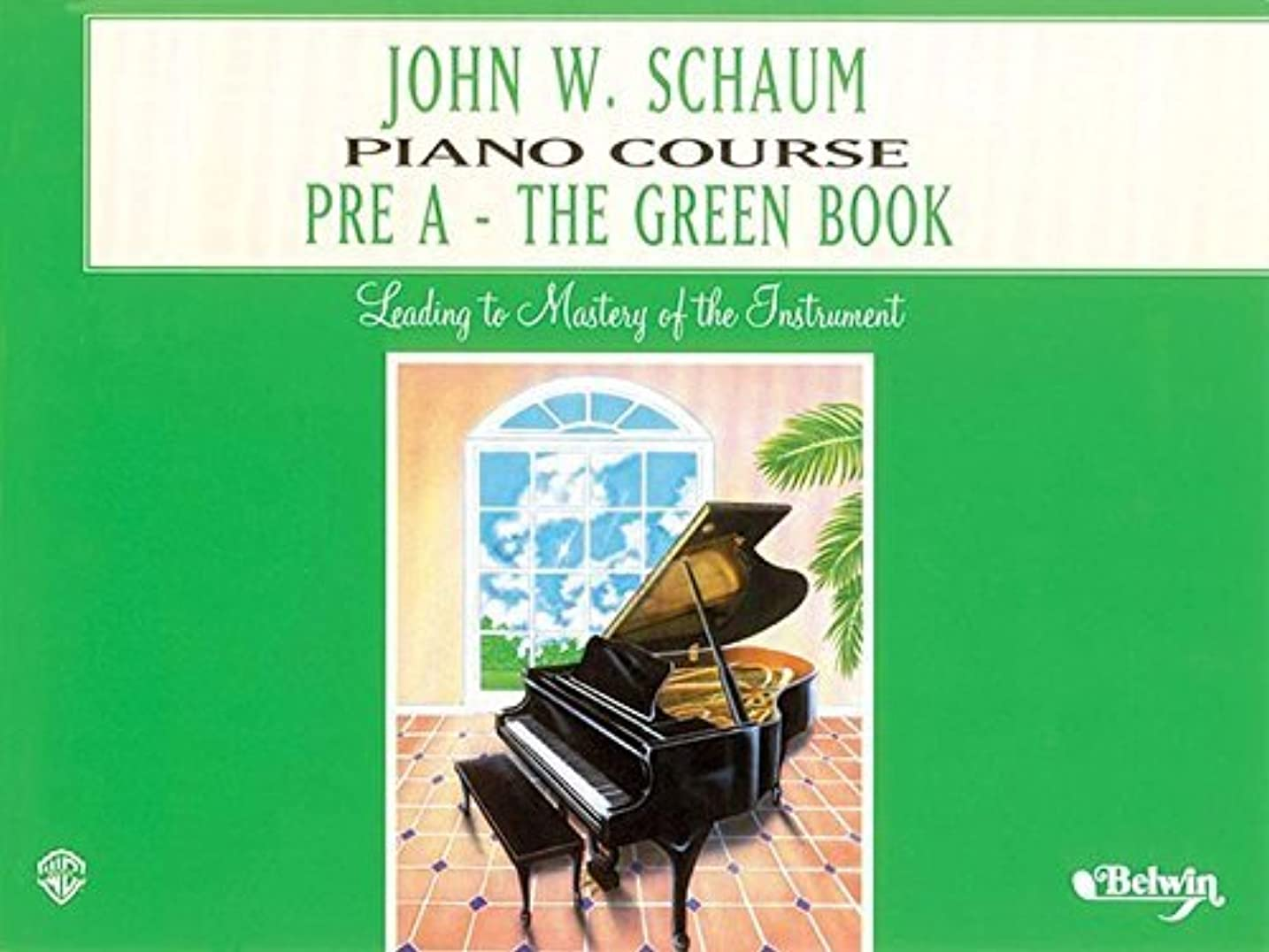 スーダンパーフェルビッド毛布John W. Schaum Piano Course, Pre-A: The Green Book: For the Earliest Beginner (Piano) (English Edition)