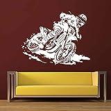 ASFGA Motocross Aufkleber Auto Junge Schlafzimmer Poster