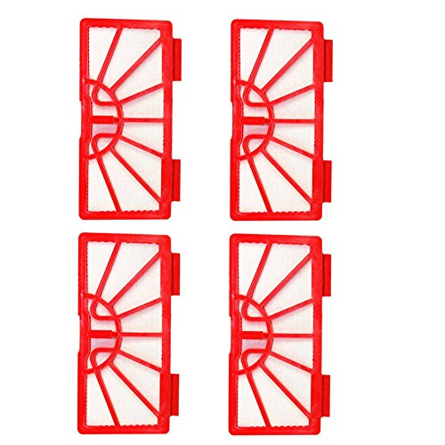 HQRP 4-Pack Vacuum Filters for Neato XV-11 Standard Filter #945-0004 Coaster