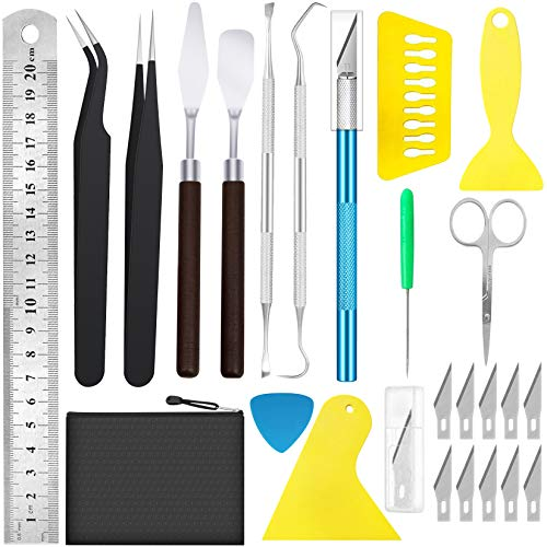 25Pack Weeding Tools Vinyl Tools Weeding Tools for Vinyl Vinyl Tools Kit for Silhouettes/Cameos/Cutting/Lettering/Splicing