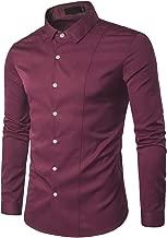 Amazon.es: camisas color vino hombre