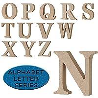 ALPHABET LETTER(アルファベットレター) 英字 大文字 N~Z ナチュラル (W(大文字))