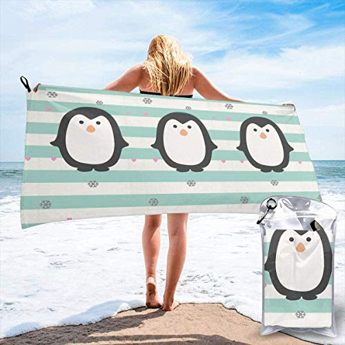 Strandt/ücher Handt/ücher Unisex White Tiger Baby and Mom Over-Sized Cotton Bath Beach Travel Towels 31x51 Inch