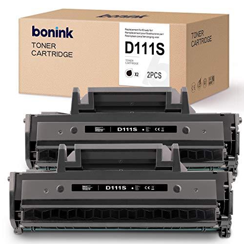 BONINK 2 Compatibile con Samsung MLT-D111S D111S Nero Toner per Samsung Xpress M2026W M2026 M2070 M2070FW M2020W M2020 M2022W M2022