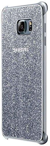 SAMSUNG Glitter EF-XG928CSE Custodia Cover Galaxy S6 Edge Plus, Argento