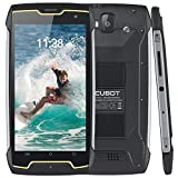 CUBOT King Kong Smartphone 16GB Unlocked Rugged Cell Phone, Straight Talk Phone with 4400mAh, 5 Inch HD IPS, 13+8MP Camera, IP68 Waterproof, Quad-Core, Dual SIM, GPS, Compass, 2GB RAM