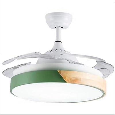 Ventilador de techo loonju LED con luces para sala de estar ...
