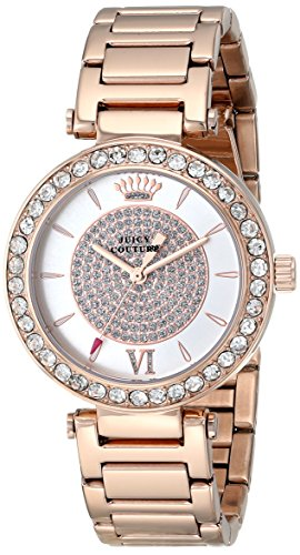 Juicy Couture Women's 1901152 Luxe Couture Analog Display Quartz Rose Gold-Plated Watch - http://coolthings.us