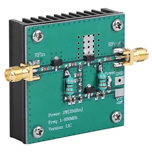 ラジエーター設計RFブロードバンドパワーアンプモジュール電気アクセサリ標準SMAメス産業用RFアンプ