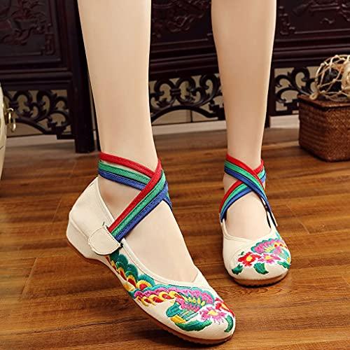 JFTMY Primavera Verano Confort Zapatos Casuales Zapatos De Tela Estilo Chino...