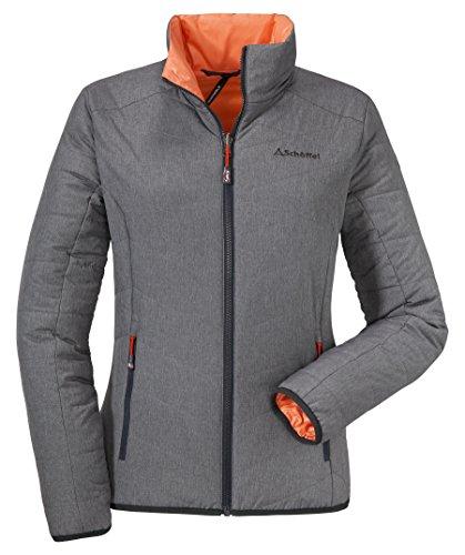 Schöffel Ventloft Jacket Salzburg Women Größe 40 Mittelgrau Melange
