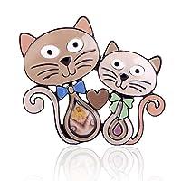 かわいい猫のブローチエナメルメタルブローチファッションピンナップクラシックアクセサリーセーターデコレーションピンバンケットウェディングアクセサリー