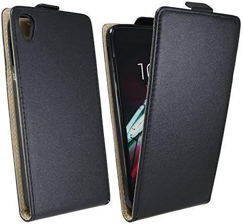 ENERGMiX Klapptasche Schutztasche kompatibel mit Alcatel One Touch Idol 3 (4,7