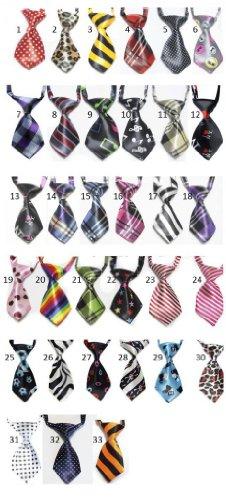 Cravate pour Chien ou Chat - 26 à 45cm - 11x5,5cm - Modèle 26