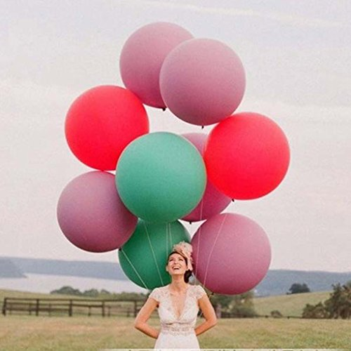 Huayang Super Grand Balloon de Latex Solide 36\