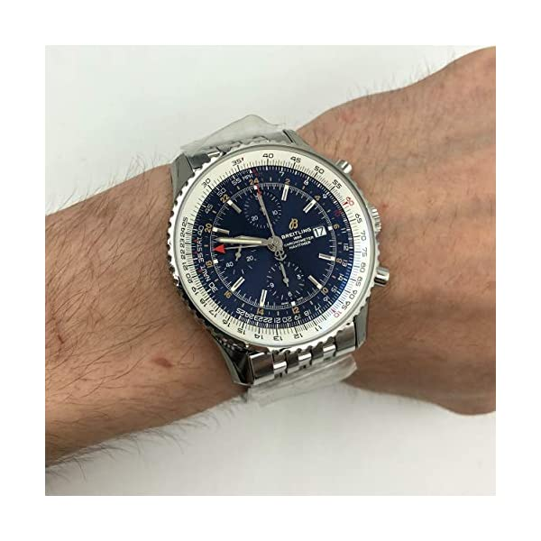 Breitling Watches Breitling Navitimer 1 Blue Dial Men's Watch A24322121C2A1