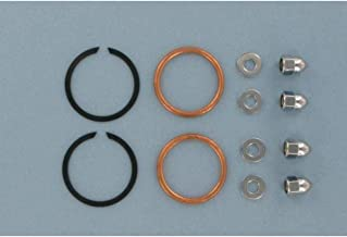 James Gasket Exhaust Port Gasket Kit - Copper Crush Ring Gaskets and Chrome Acorn Nuts 65324-83-KCR1