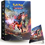 ZoneYan Álbum de Pokemon Album Pokemon, Album de Cartas Pokemon , Album de Cartas Coleccionables, Carpeta Cartas Pokemon, Album Pokemon Cartas , 30 Páginas, hasta 240 Tarjetas (Incineroar)