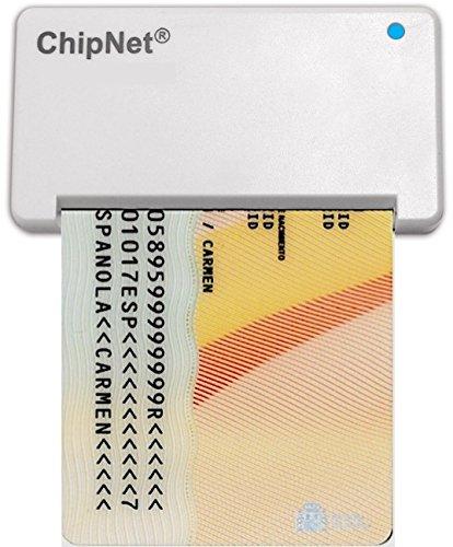 Lector DNI para MAC (Funciona en Catalina 10.5 )-ChipNet iBOX Plus - DNie y DNI3.0.- Uso Optimizado en Windows y Linux.-Empresa Española .Soporte Posventa con asistencia personal.