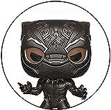 Black Panther Armor Venom Poisoning Deformation Mini Q Versión 3.9inches Colección Acción PVC Figura...