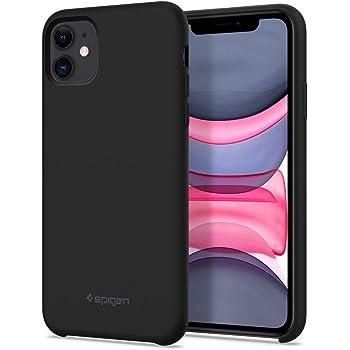 Spigen Silicone Fit Back Cover Case Designed for iPhone 11 - Black