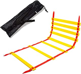 ラダー トレーニング ラダー サッカー 野球 7m プレート 13枚 収納袋付き 連結可能 スピードラダー 瞬発力 敏捷性 アップ フットサル テニス 練習 スポーツ
