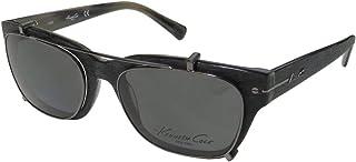 Kenneth Cole 0240 Mens/Womens Designer Full-rim Sunglass Lens Clip-Ons Eyegl/Eye Gl