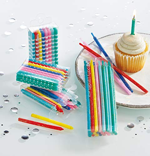 tag Bright Bday Candles SHRT ASMT3
