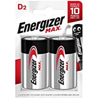 Energizer E300129200 - Pila LR20, D, blíster 2 Unidades