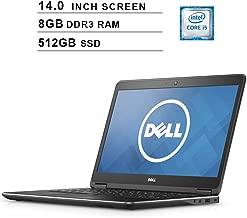 Dell Latitude E7440 Ultrabook 14-Inch Premium Business Laptop, Intel Dual Core i5-4310U up to 3.0GHz, Intel HD 4400, 8GB DDR3 RAM, 512GB SSD USB, USB, HDMI, WiFi, Windows 10 Pro (Renewed)