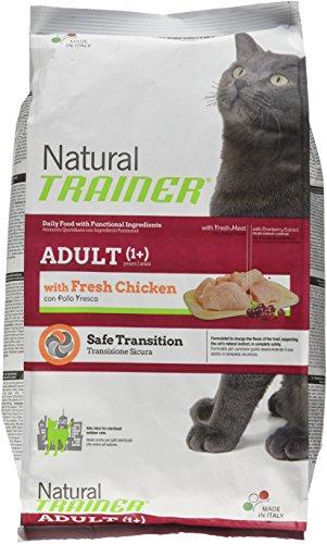 Natural Trainer Trainer Natural con Pollo Fresco 1,5kg-Mangimi secchi per Gatti crocchette, Multicolore, Unica