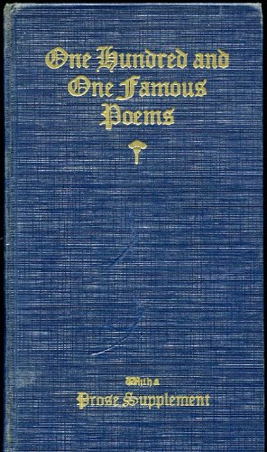 101 famous poems roy cook - 9