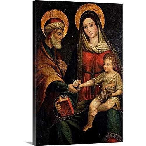GREATBIGCANVAS Holy Family, by Anonymous Emilian Artist, 16th. Brera Gallery, Milan, Italy Canvas Wall Art Pri.
