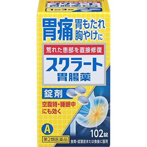 ライオン スクラート胃腸薬 錠剤 102錠