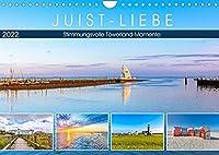 JUIST-LIEBE (Wandkalender 2022 DIN A4 quer): Stimmungsvolle Toewerland-Momente (Monatskalender, 14 Seiten )