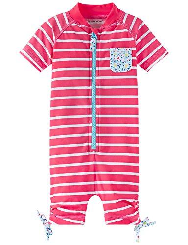 Schiesser meisjes aqua baby-jumpsuit eendelig