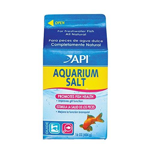 MARS FISHCARE API Aquarium-Salz, zur Unterstützung der Hygiene und Gesundheit der Fische, für Aquarium, Aquarium-Salz, Packungsgröße: Small, 453,44g