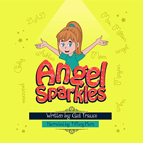 Angel Sparkles audiobook cover art