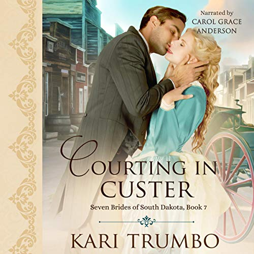 Courting in Custer  By  cover art